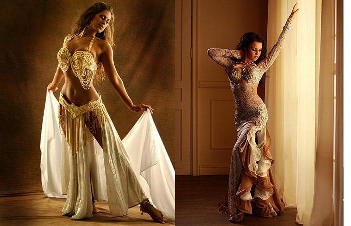 Сексуальный костюм восточной танцовщицы